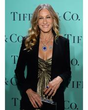 Sarah Jessica Parker in diamonds from the Tiffany & Co. 2013 Blue Book Collection, at the Blue Book Ball at Rockefeller Center in New York City, April 18, 2013.