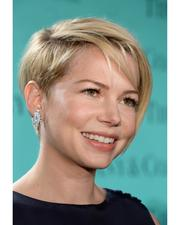Michelle Williams in diamonds from the Tiffany & Co. 2013 Blue Book Collection at the Tiffany & Co. Blue Book Ball at Rockefeller Center in New York City, April 18, 2013.