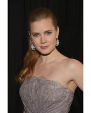 Amy Adams in Paloma Picasso Olive Leaf earrings of quartz and diamonds at the 38th annual Los Angeles Film Critics Association Awards on January 12, 2013.