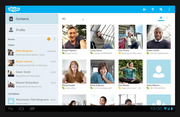 Skype  iPhone: 17.9 million downloads, 3+ stars. Get it here. Android: 39.2 million, 4 stars.  Get it here.