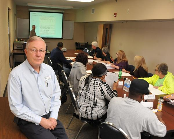 John Churchill leads the Industrial Readiness Training program at Southwest Tennessee Community College