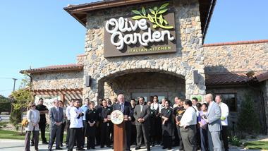 What is the ideal number of Olive Garden restaurants that you'd like to see in the city of Chicago?