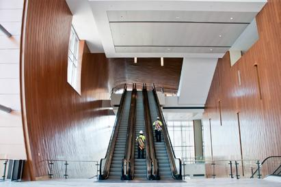 One last sneak peek inside Music City Center