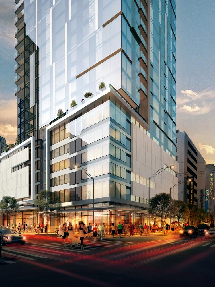 Equity Residential Is Starting Construction On This 40 Story Apartment  Building At 204 Pine St