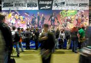 The Image Comics booth at the three-day Emerald City Comicon at the Washington State Convention Center in Seattle. This year's event doubled the show floor for exhibitors and artists compared with last year.