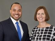 Toyota spokesman Javier Moreno and Chief Communications Officers Julie Hamp, are two of the automaker's pioneers tasked in bringing Toyota North American's headquarters to Plano.