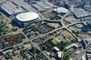 The stadium promises to become Atlanta's single-largest urban redevelopment project since the 1996 Olympic Games, and its broader implications for Martin Luther King Jr. and Northside drives will involve Falcons ownership, city officials, MARTA and local neighborhood and church leaders.