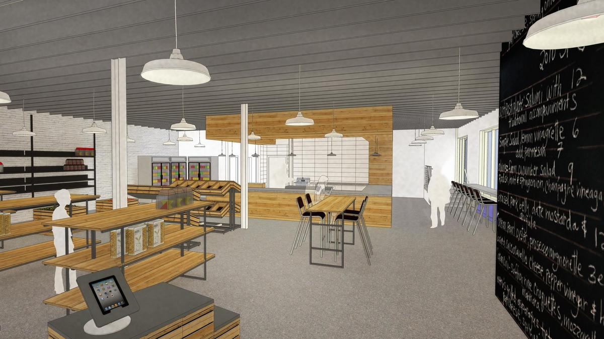 Zoes Kitchen Heads To Plaza Sundry Market Opens In
