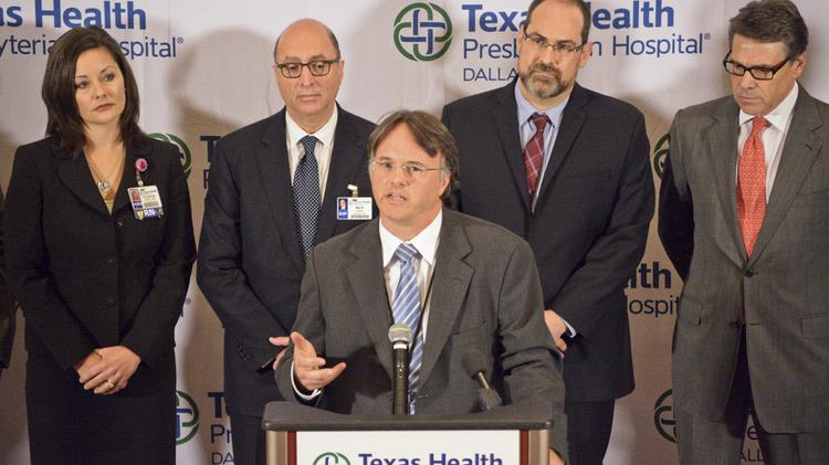 Health commissioner: Hospital's changing story on Ebola patient sent