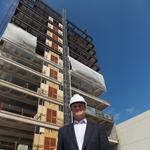 PHOTO TOUR: 12-story 250 S. High St. tops out, marking midpoint in construction