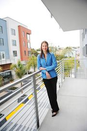 "Meg Spriggs, vice president of development for AvalonBay, said of Avalon Ocean Avenue, ""After a seven-year process, we were lucky to hit the market when we did."""