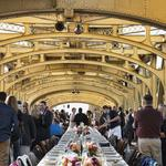 Farm-to-fork dinner on Tower <strong>Bridge</strong> sets another record in selling out tickets -- 15 seconds