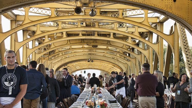 Farmtofork Dinner On Tower Bridge Sets Another Record In Selling - Farm to table sacramento
