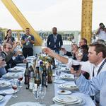 Here's the menu for this year's Tower Bridge farm-to-fork dinner