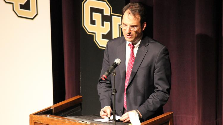 Phil Weiser, dean of the University of Colorado Law School, announced that he will step down as dean next summer.