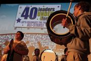 The Grimsley High School band got the party started for the 2013 40 Leaders Under Forty awards ceremony