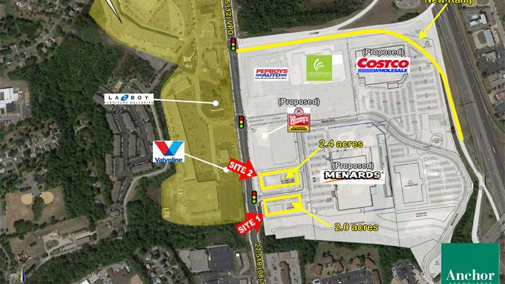 Costco Menards To Anchor Florence Heights Development - Map of costco in us
