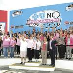 Charlotte Motor Speedway teams with Blue Cross and Blue Shield of N.C. for Nationwide Series race