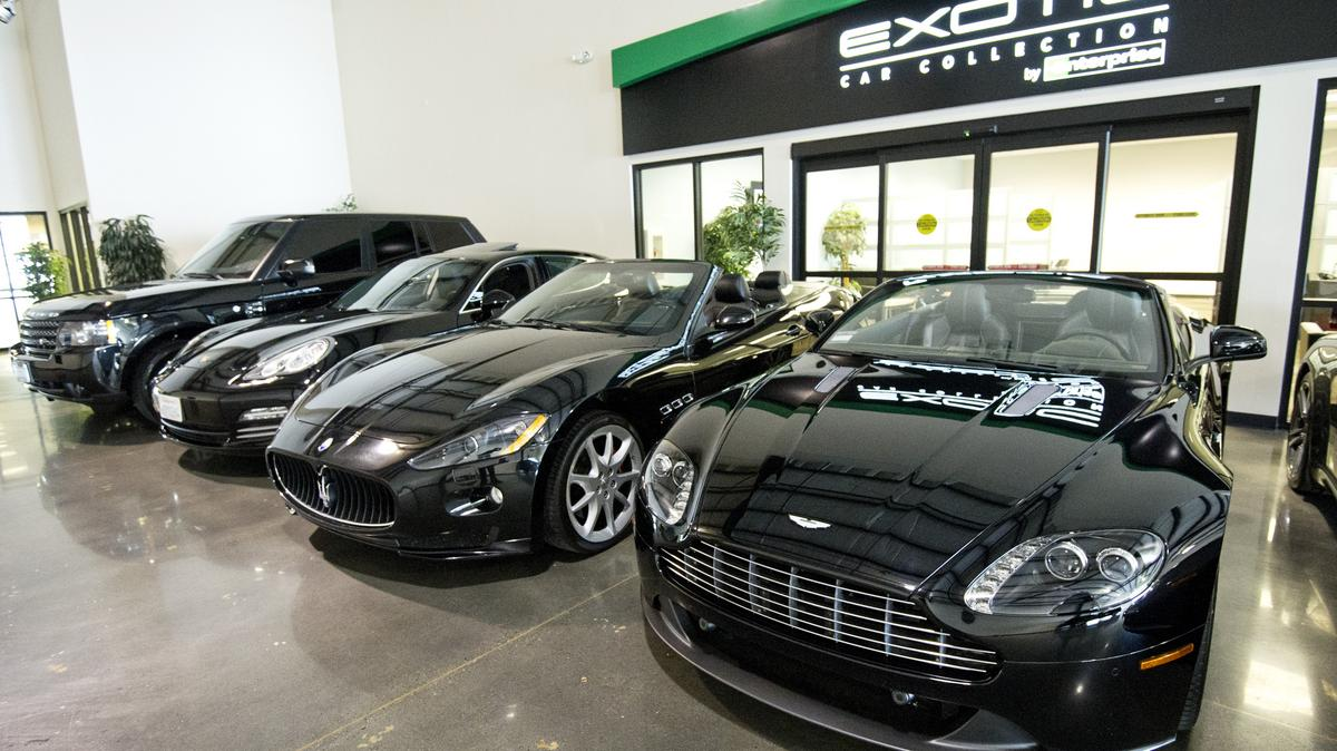 Enterprise Opens Luxury Car Rental Center In South Beach