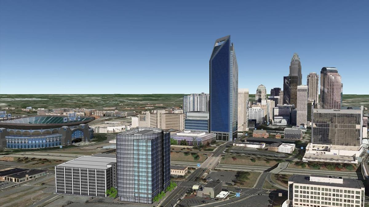 Trinity Capital Plans 14 Story Office Building At Corner