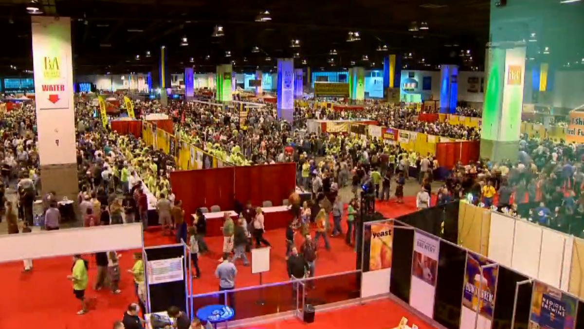 152 colorado breweries pouring at great american beer for Craft show denver convention center