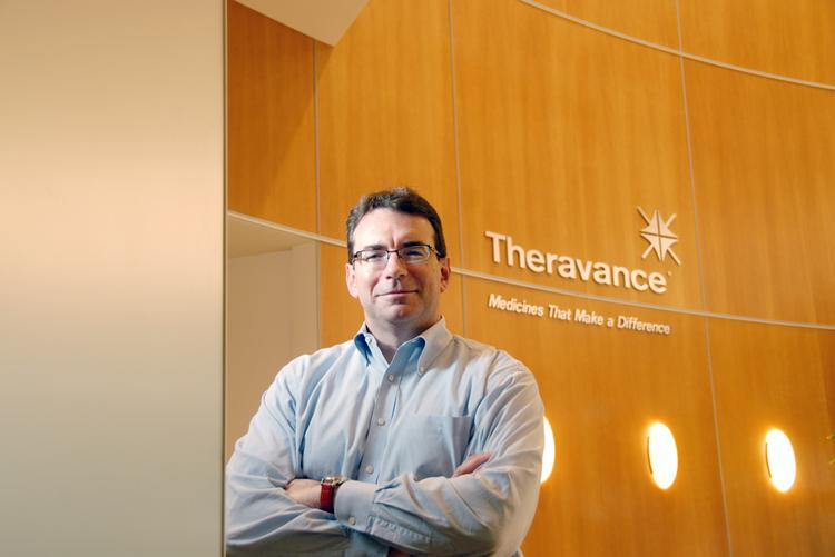 Rick Winningham is CEO of Theravance Inc. but won't be allowed to oversee both the company and its drug-development spinoff for more than nine months.