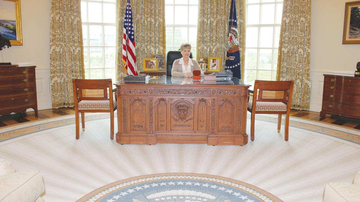 oval office desk replica. Trapped On H Street NE? Pay The Jackson Smith Group To Escape Room - Washington Business Journal Oval Office Desk Replica 1