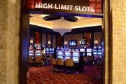 Here's a peek at the high limit slots room. There's also a high stakes gaming area, where visitors can bet up to $50,000 per hand in Blackjack.