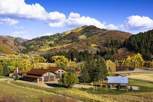 Former Under Armour executive Ryan Wood has listed his massive Colorado ranch for $12.95 million. The property is just outside Steamboat Springs.