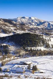 Ryan Wood's ranch sits just five minutes outside of Steamboat Springs, Colo., known as a haven for skiers.
