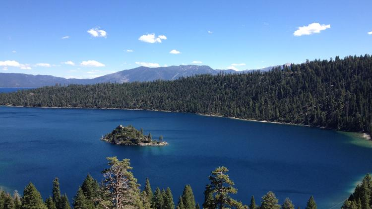 A new smartphone app allows users to take pictures, as well as monitor water quality, plants and beach conditions at Lake Tahoe.