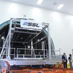 Space Systems Loral opens massive new satellite vacuum chamber