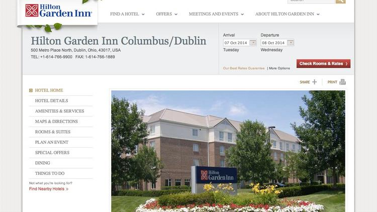 the hilton garden inn was purchased by a new york hotel owneroperator in late - Hilton Garden Inn Dublin Ohio