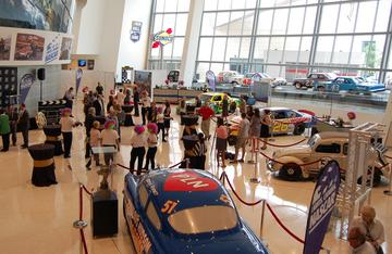 Photos: NASCAR Hall opens movie exhibit