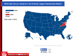 Nearly all 50 states are rooting for the Royals