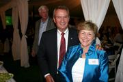 Former Sen. John Breaux, D-La., senior counsel at Patton Boggs, and Lois Breaux, attend a dinner at the residence of the Swedish ambassador in D.C. on May 15. The event was in Breaux's honor.