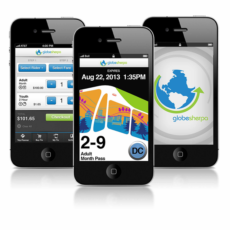 The TriMet Tickets app is powered by Portland-based GlobeSherpa.