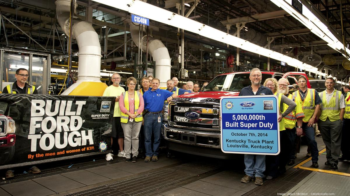 Ford Dealership Louisville Ky >> Ford makes its 5 millionth Super Duty at Louisville plant ...