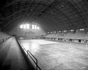 An old photo of inside the Armory