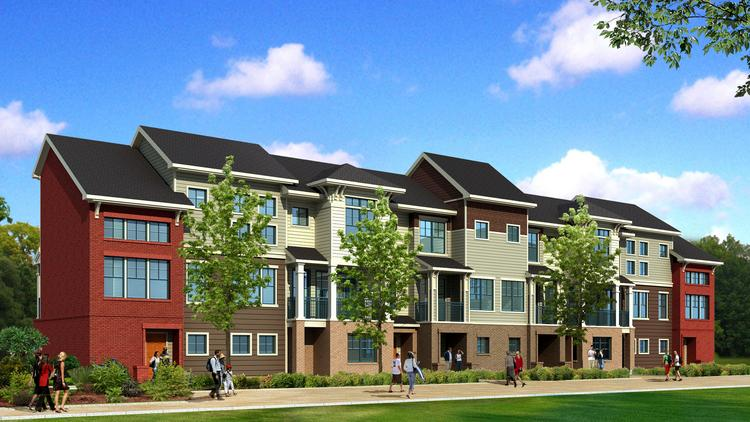 Alliance residential co moves forward two new luxury for 3 story townhome plans