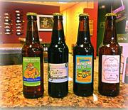 A selection of beer from Vintner's Circle.