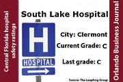 The Leapfrog Group said May 17 that South Lake Hospital's score would upgraded to a C.