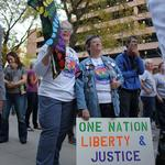 Same-sex marriage supporters gather in Denver to celebrate marriage equality (Slideshow)