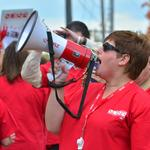 Debate over nurse wages, benefits and staffing levels behind union picketing