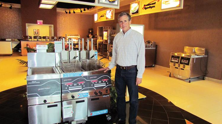 Rob Connelly Is President And Ceo Of Henny Penny Corp