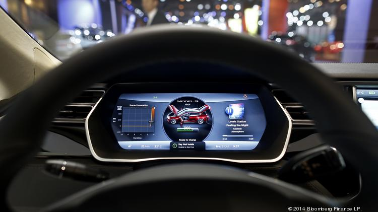 Freescale components show up in Tesla car - Austin Business