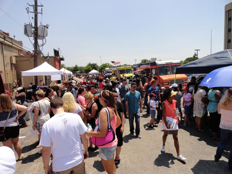 Amid a growing food truck market, a new park will open in the Energy Corridor.  Pictured: The first Houston Food Truck Fest was held May 18 at Stereo Live.