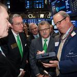 Boston money management firm became publicly traded this week