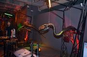 """""""Dinosaurs in Motion"""" features 14 life-size dinosaur sculptures."""