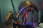 Wire rope help make this dinosaur come to life.